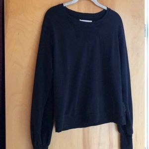 AIKO black long-sleeved top size small